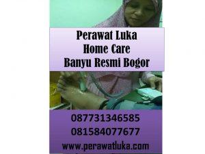 Perawat Luka Home Care Banyu Resmi Bogor