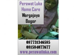 Perawat Luka Home Care Wargajaya Bogor