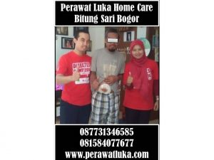 Perawat Luka Home Care Bitung Sari Bogor