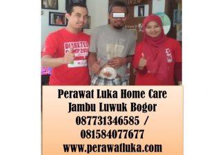 Perawat Luka Home Care Jambu Luwuk Bogor