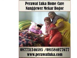 Perawat Luka Home Care Nanggewer Mekar Bogor