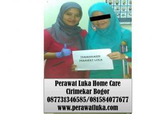 Perawat Luka Home Care Cirimekar Bogor
