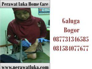 Perawat Luka Home Care Galuga Bogor